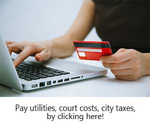 Pay City taxes, court costs, and utilities