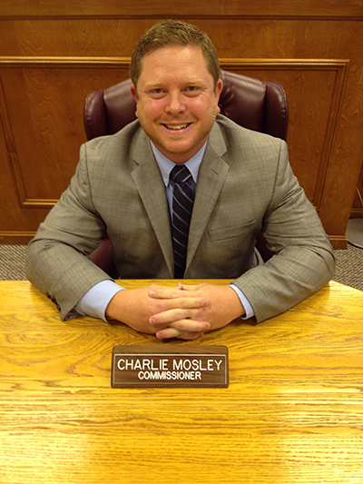 charlie mosley, commissioner
