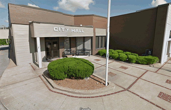 Google Map image of Waynesboro City Hall